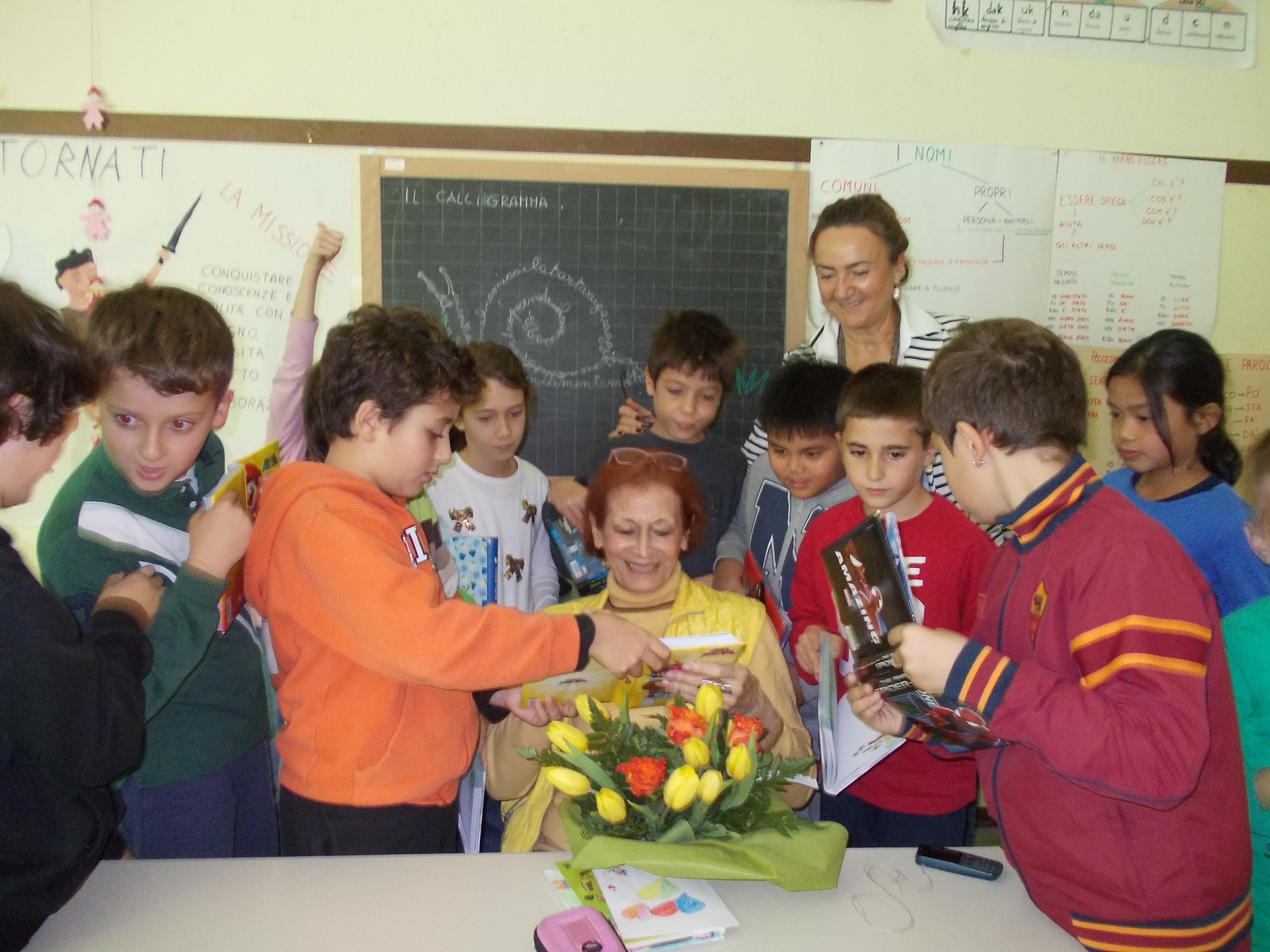 30 ott 2014-IV A della scuola Franco Cesana, Roma